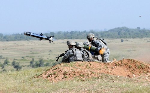 There's No Outrunning the Javelin Anti-Tank Missile