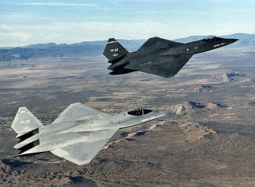 This Stealth Fighter Was Rejected in Favor of the F-22