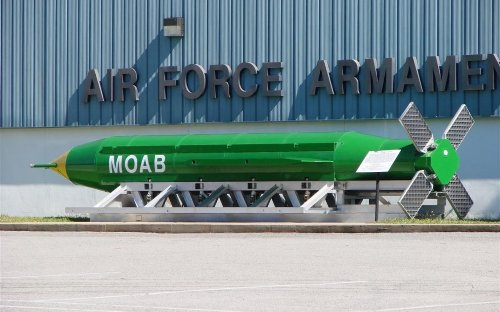 Why Germany's Bombers Could Not Match the Destructive Power of a MOAB.