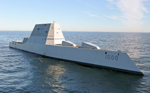 Navy Zumwalt Stealth Destroyers to Soon Carry Hypersonic Weapons