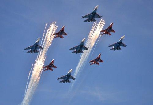 Russia's Su-27 Fighters Wreak Absolute Havoc in the Baltics