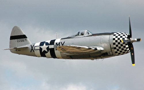 The P-47 Thunderbolt Pulled No Punches in World War II