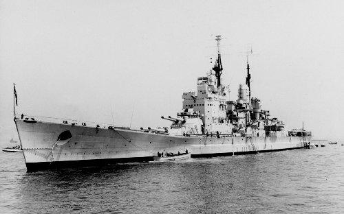 HMS Vanguard: The Last Of Great Britain's Mighty Battleships