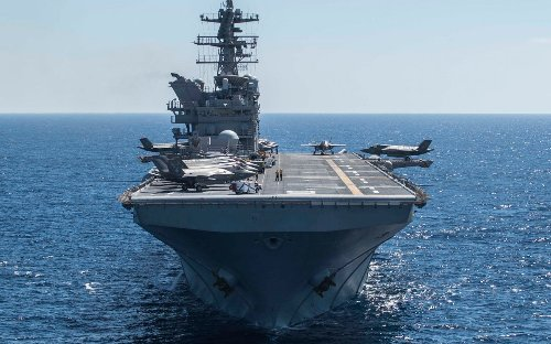 These Navy Carriers Can Launch a Special Type Of F-35 Fighter