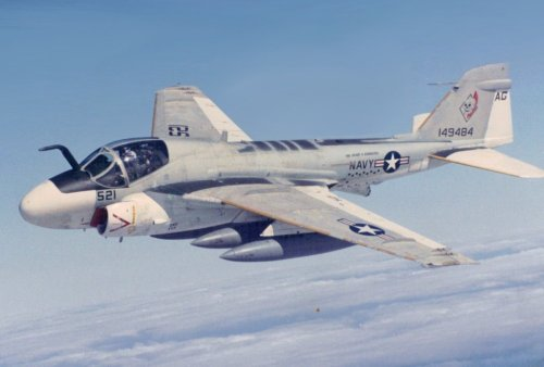Death From Above: The A-6 Intruder and Cluster Bombs
