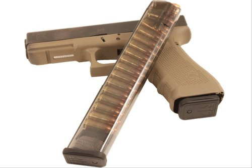 The Glock 18 Is a 'Machine Pistol' The Fires 1,200 Rounds Per Minute