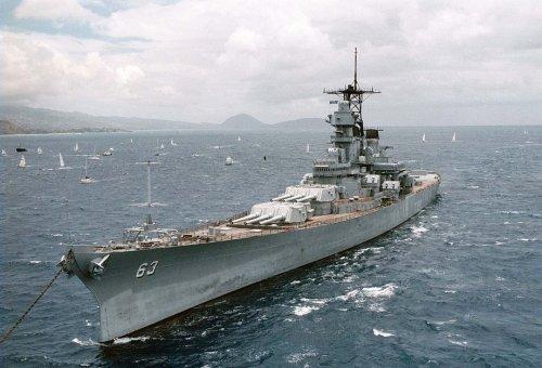 When American Battleships Bombarded Korean Shores