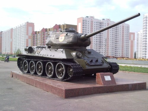 Russia's T-34 was a Panzer Crusher