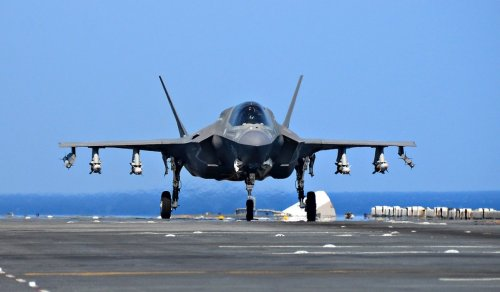 Japan's F-35Bs Can Keep Flying When Airfields are Hit