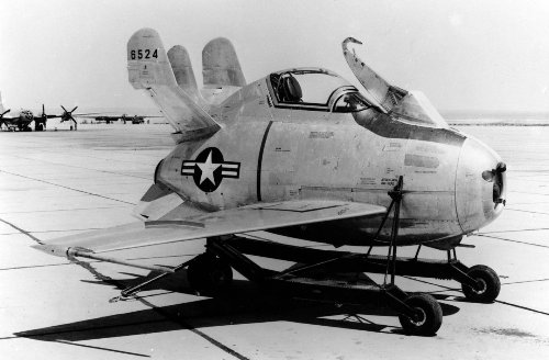 XF-85 Fighter: This Crazy Looking Plane Was Built To Save Bombers