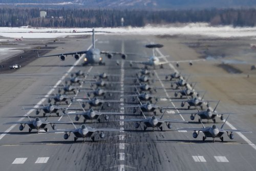 Study This Picture: The Air Force Was Doing More Than Just Showing Off