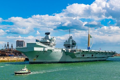 Queen Elizabeth: Britain's New Aircraft Carrier Shares a Name With the Renaissance Queen and a Deadly Battleship