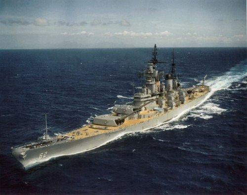 Why the U.S. Navy Sent this World War II Battleship to Vietnam