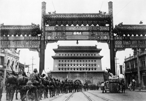 World War II Started in China, Not Europe