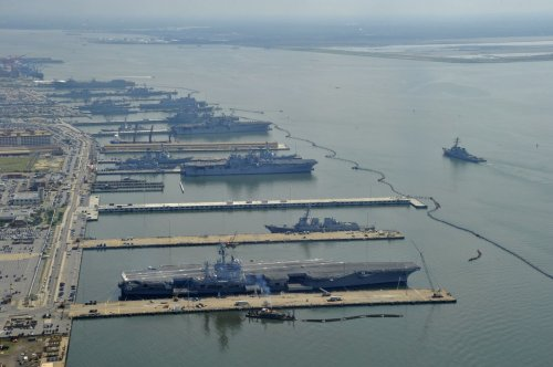 Is the World's Biggest Navy Base Sinking?