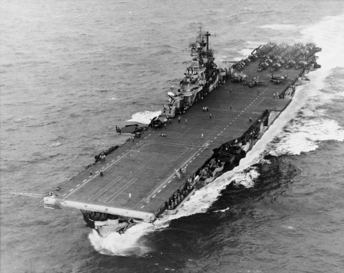 4 Kamikaze Attacks Couldn't Take This Aircraft Carrier Down