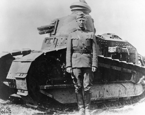 How George S. Patton Became General George S. Patton