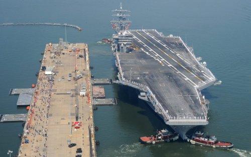 The U.S. Navy Has a Big Shipyard Problem