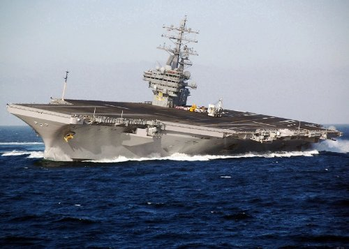 What Happens When a Submarine Gets *Too* Close to an Aircraft Carrier?