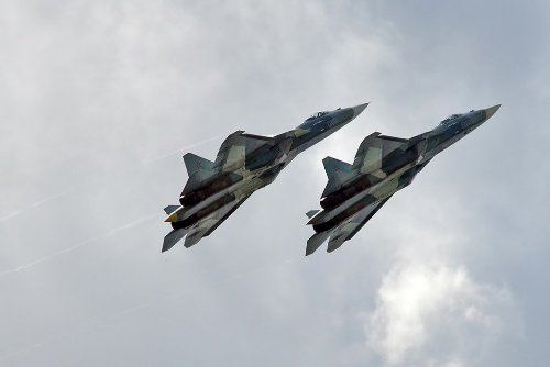 Russian Su-57 Stealth Fighters Could Be Getting a Wingman