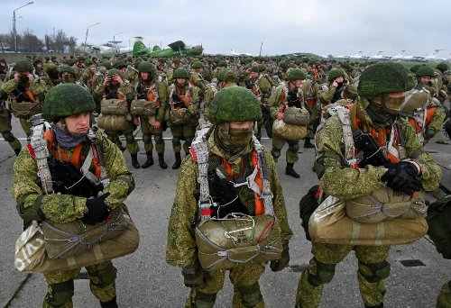 Russia's Airborne Fighting Force is the Second Largest and Growing