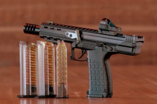 A Huge 50-Round Magazine Makes the Kel-Tec CP33 Unlike Any Pistol