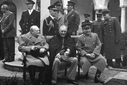 Hitler Tried to Assassinate Churchill, FDR, and Stalin in One Place