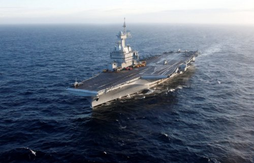 French Aircraft Carrier Charles de Gaulle Back at Sea After A Hiatus
