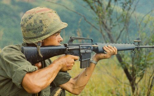 How the M16 Assault Rifle Became an American Legend