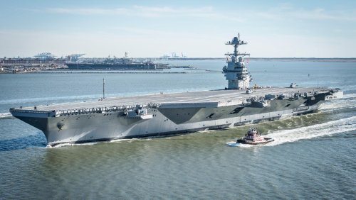 New Upgrades are Changing How the Ford-Class Aircraft Carrier Fights