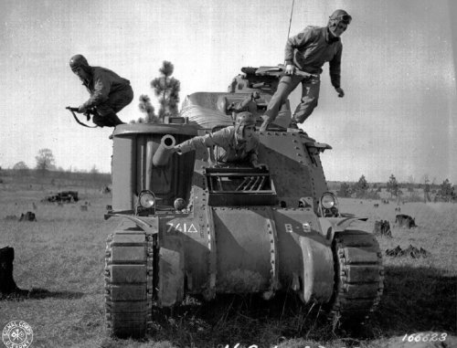 The M3 Tank Paved the Way for American Armor in World War II