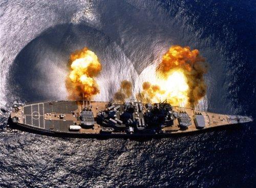 Razing North Korea: How Four U.S. Navy Battleships Took on Kim