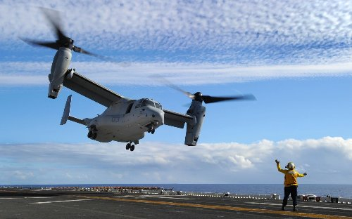 The V-22 Osprey: The Future of U.S. Navy Airlift
