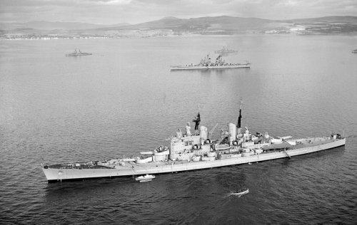 HMS Vanguard: Great Britain's Last Battleship Was Its Best