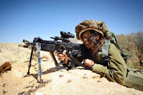 Built for War: Israel's Tavor Rifle Can Shoot 800 Rounds a Minute