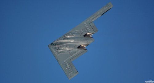 Watch This B-2 Stealth Bombers Unleash a GBU-57 Bunker Buster