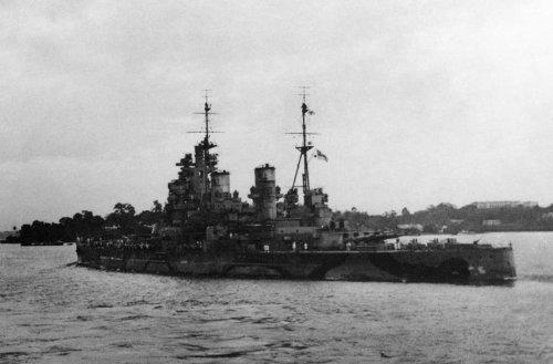 Britain's Best Battleship Was Sent to the Ocean Floor — By Japan