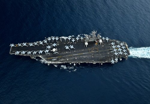 Could China Sink a U.S. Aircraft Carrier? Not If the Navy Has Its Way