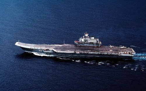 The Crazy Reason Russia Has Only 1 Aircraft Carrier