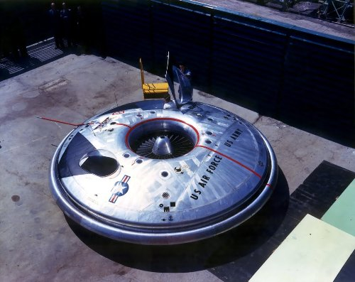 America Is No Stranger to Flying Saucers, the Air Force Once Built One