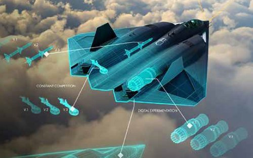 Picture Alert: Could This Be the U.S. Military's Next Stealth Fighter?