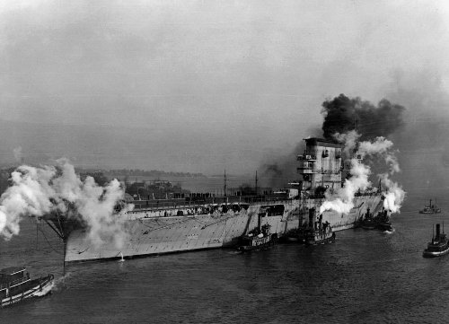 Death of Lady Lex: How Japan Brought Down a U.S. Aircraft Carrier