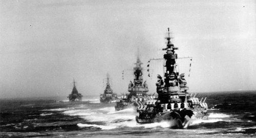 Japan Is Smart to Have Surrendered: America's Battleships Would Have Hit it Hard