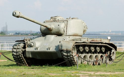 Clash of the Heavy Tanks: America's M26 Pershing vs. Germany's Tiger