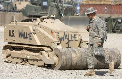 New Army Robots Change Combat Tactics