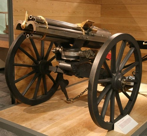Civil War Killer: The Gatling Gun Tore Up Everything and Anything