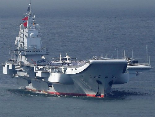 Say 'Aircraft Carrier' To a Chinese Admiral and Watch Him Sweat