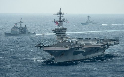 """When France """"Sinks"""" a U.S. Aircraft Carrier, China Pays Attention"""