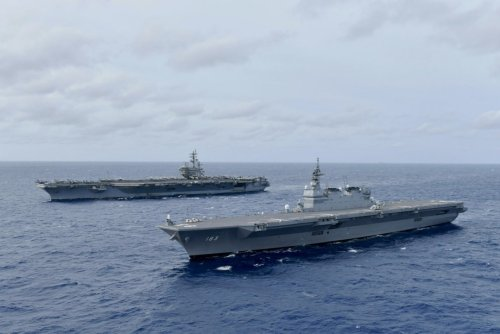 Not Aircraft Carriers: Japan Is Doubling Down on New Helicopter Carriers