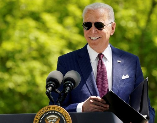 Why Joe Biden Is Smiling? Those Stimulus Check Really Worked.